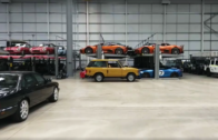 Jaguar Land Rover's own 780+ Car Collection