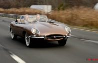 Jaguar E Type Roadster 1961″Outside-Bonnet-Latch""
