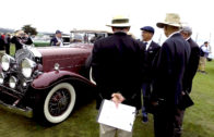 McKeel Hagerty and his 1931 Cadillac 452A Fleetwood V-16 at Pebble Beach