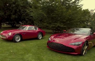 Aston Martin's DBZ Centenary Collection