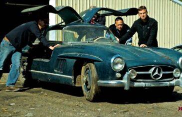 Mercedes 300SL Gullwing Barn Find